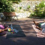 Yoga a cielo aperto